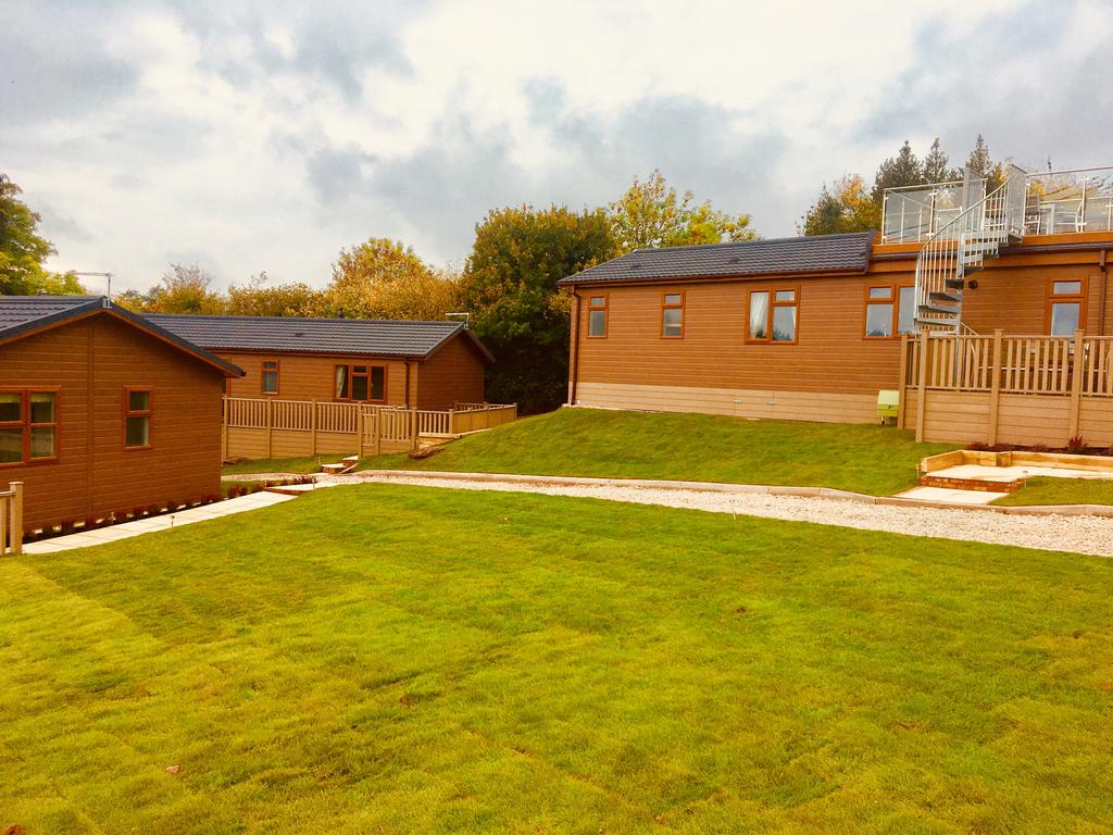 Three Lodges at Sapey can be booked together