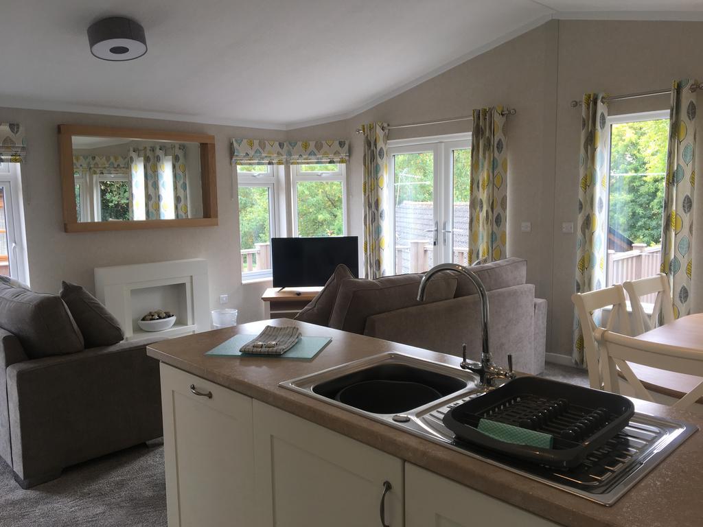 Saunton open plan living area