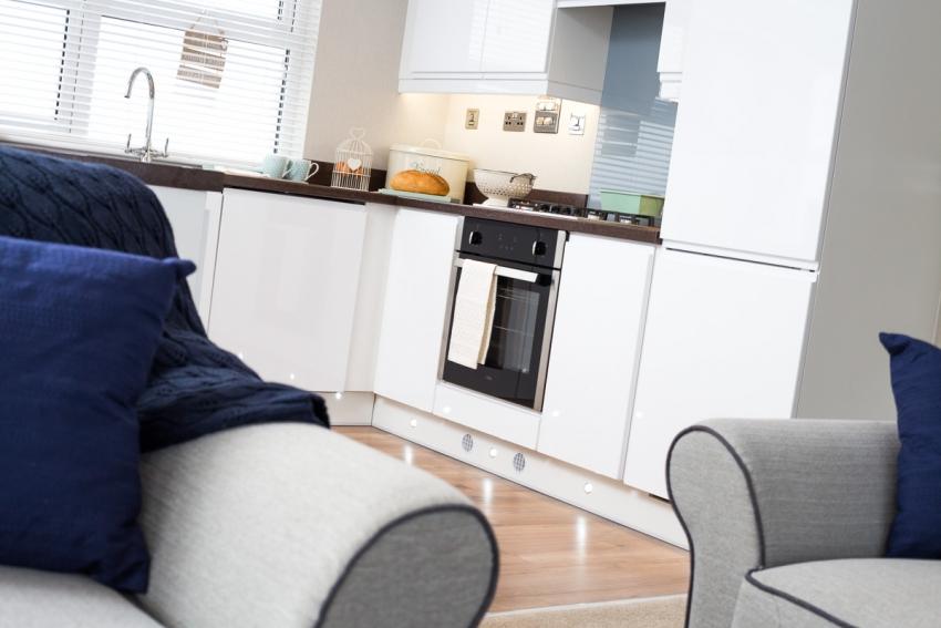 Porthcawl open plan Kitchen