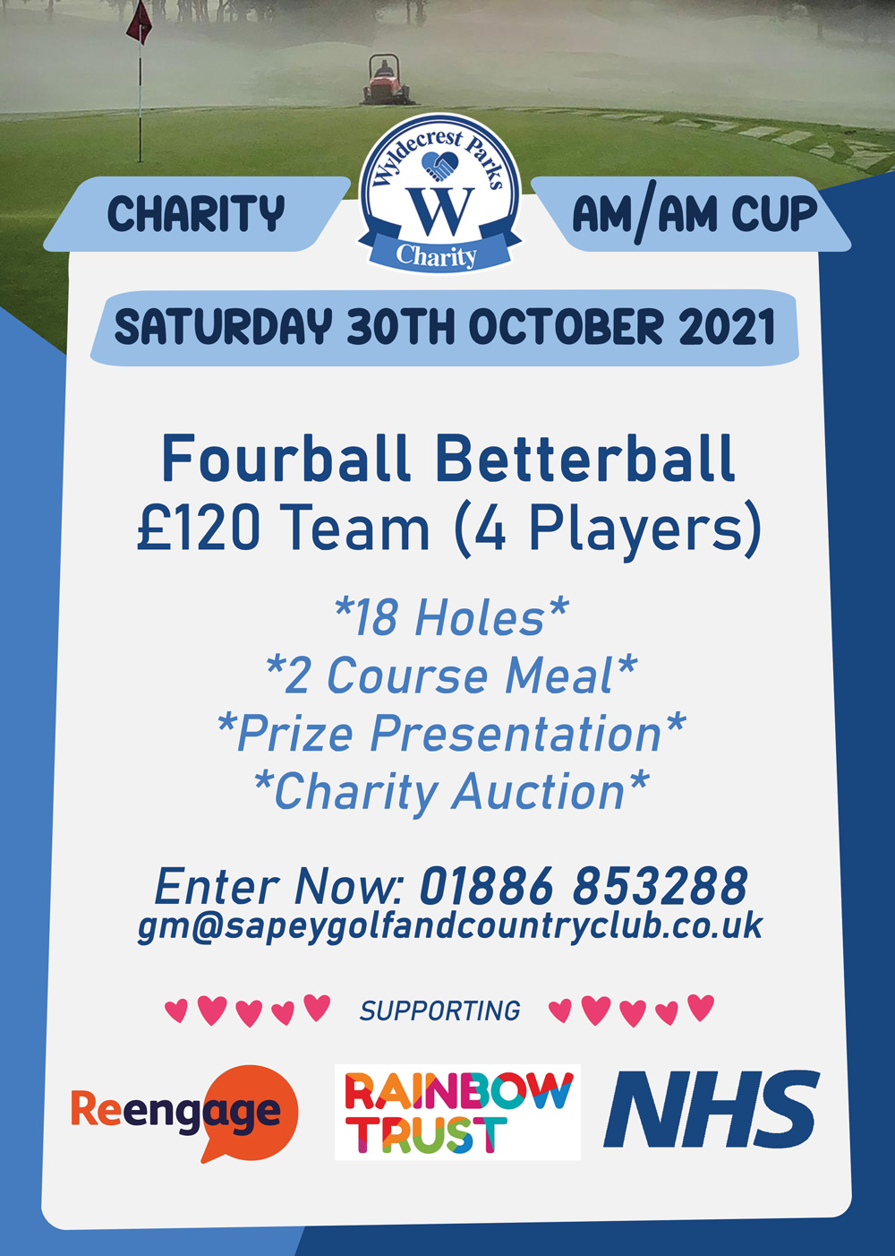 Sapey Charity Golf Event-October 2021